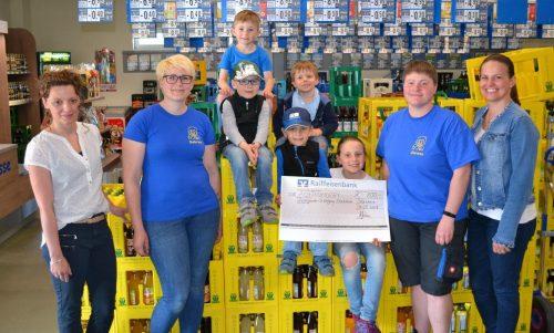 Spendenübergabe Kindergarten St. Wolfgang 04. Mai 2018